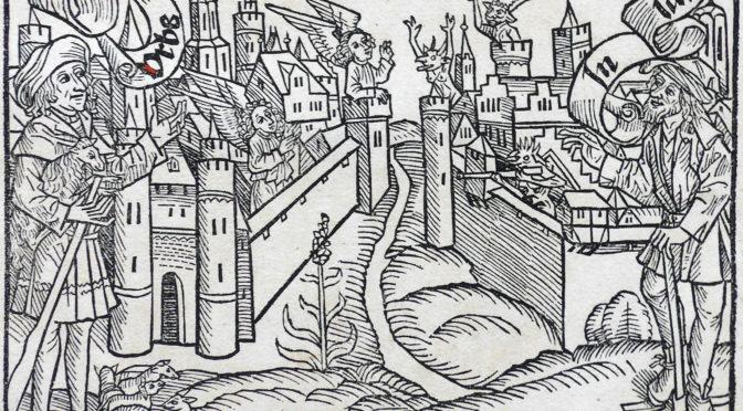 """Augustinus' """"De civitate Dei"""" – Christliche Heilsgeschichte in einer provinziellen Kloster- und Schulbibliothek in Bielefeld"""
