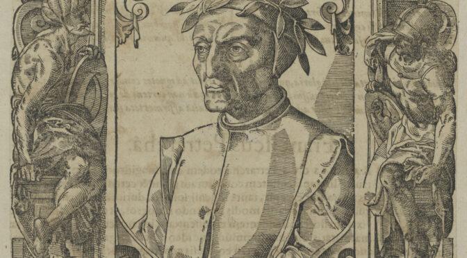 Dante Alighieri in der Staatsbibliothek zu Berlin